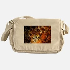 Fox Tails Abstract Messenger Bag