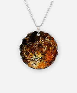 Fox Tails Abstract Necklace