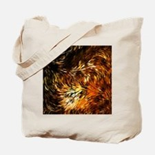 Fox Tails Abstract Tote Bag