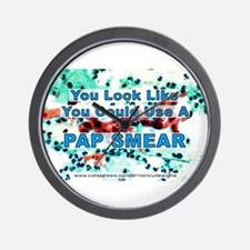 You Could Use a Pap Smear Wall Clock