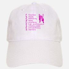 F R E N C H I E S pink Baseball Baseball Cap