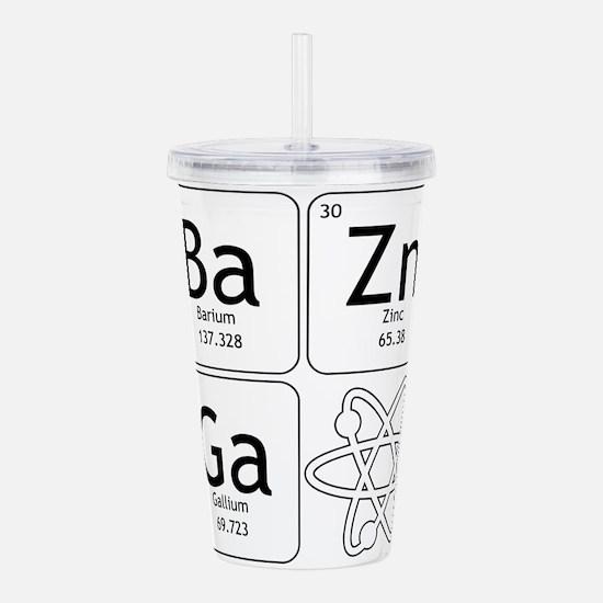 BaZinGa Atom TBBT Acrylic Double-wall Tumbler