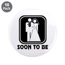 "Soon To Be 3.5"" Button (10 pack)"