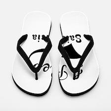 I Rep Saint Lucia Flip Flops
