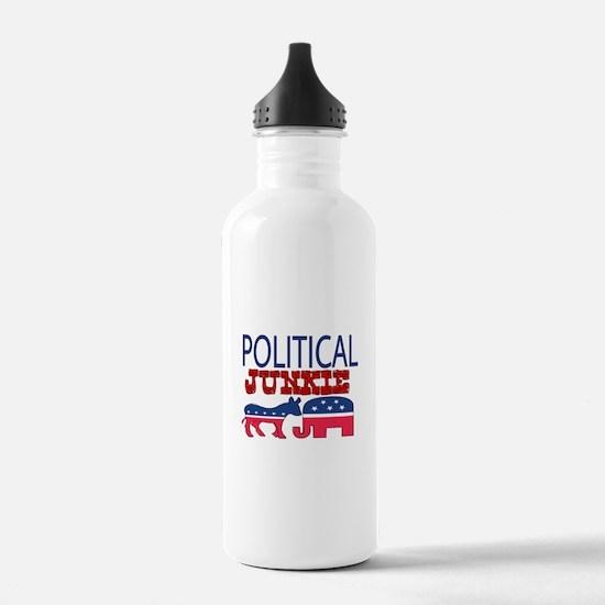 POLITICAL JUNKIE Water Bottle