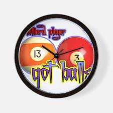 Unique Got balls tennis Wall Clock