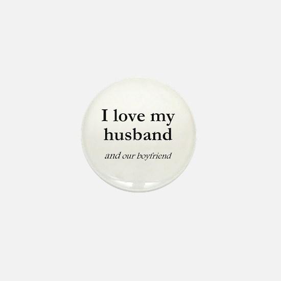Husband/our boyfriend Mini Button