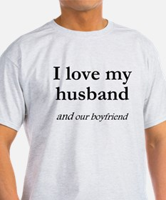Husband/our boyfriend T-Shirt