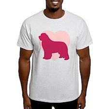 Newfoundland Valentine's Day T-Shirt