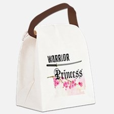 Unique Warrior Canvas Lunch Bag