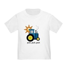 Blue Tractor T