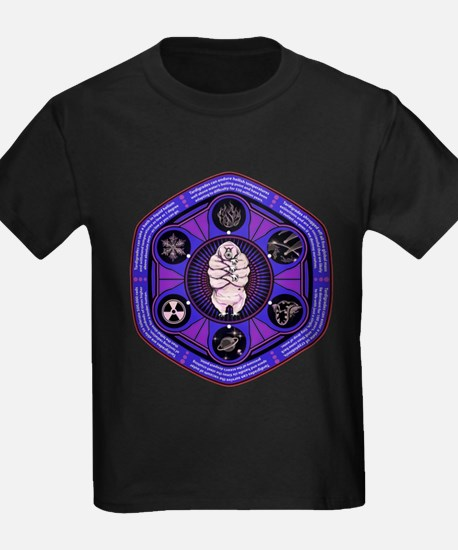 Tardigrade Facts (purple version) T-Shirt