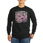 Phlox Candy Stripe Long Sleeve Dark T-Shirt