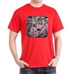 Phlox Candy Stripe Dark T-Shirt