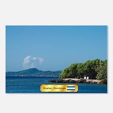 Roatan Honduras Postcards (Package of 8)