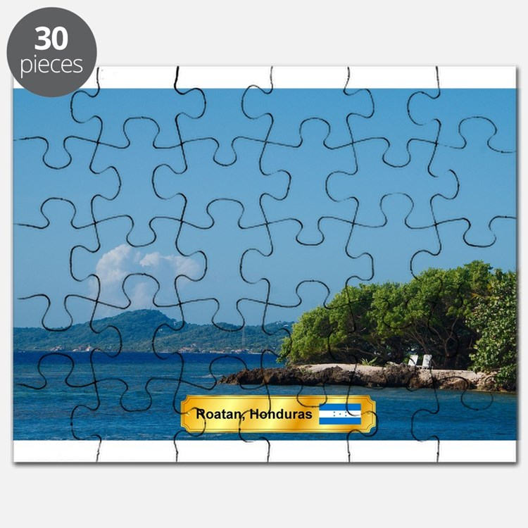 Roatan Honduras Puzzle