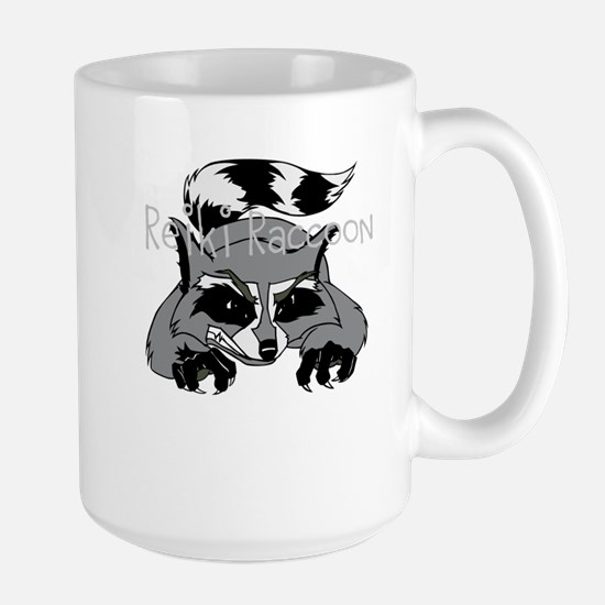 Reiki Raccoon Mugs