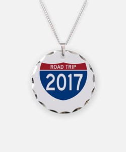 Road Trip 2017 Necklace