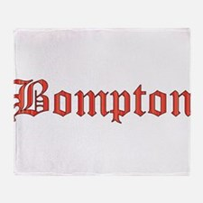 Bompton Throw Blanket