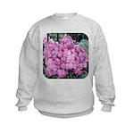 Phlox Lilac Kids Sweatshirt