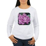 Phlox Lilac Women's Long Sleeve T-Shirt