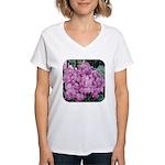 Phlox Lilac Women's V-Neck T-Shirt