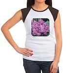 Phlox Lilac Women's Cap Sleeve T-Shirt