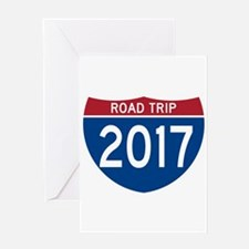 Road Trip 2017 Greeting Cards