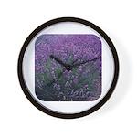 Lavandula - Lavender Wall Clock