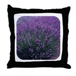 Lavandula - Lavender Throw Pillow