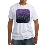 Lavandula - Lavender Fitted T-Shirt