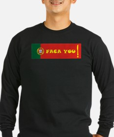Faca you Long Sleeve T-Shirt