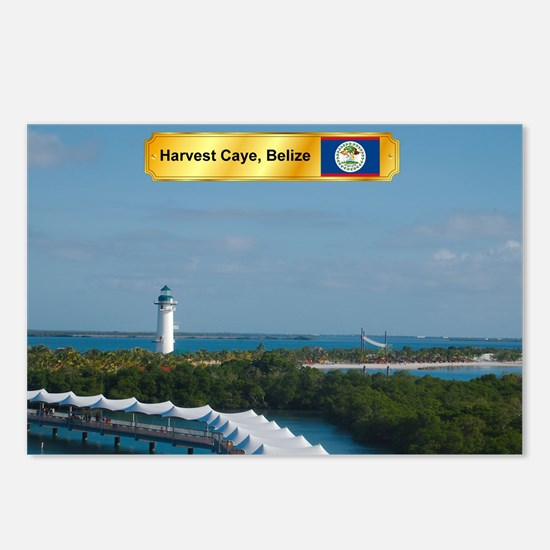 Harvest Caye Postcards (Package of 8)