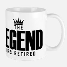 The Legend Has Retired Mugs