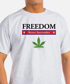 Freedom - Marijuana T-Shirt