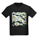 Shasta Daisies Kids Dark T-Shirt