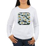 Shasta Daisies Women's Long Sleeve T-Shirt