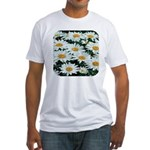 Shasta Daisies Fitted T-Shirt