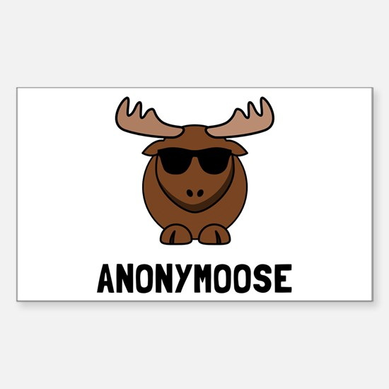 Anonymoose Decal