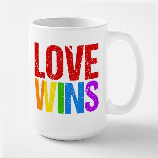 Love Wins Large Mug