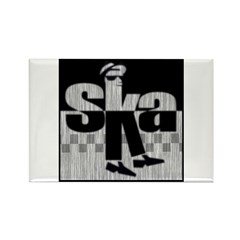 SKA Dancing 1 Rectangle Magnet (10 pack)
