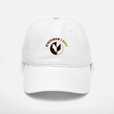 Chicken Lady Baseball Baseball Cap