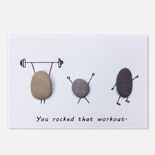 You Rocked That Workout! Postcards (package Of 8)