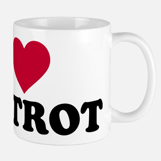 I love foxtrot Mugs