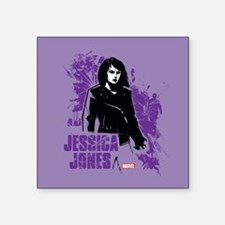"Jessica Jones Fragmented Pu Square Sticker 3"" x 3"""