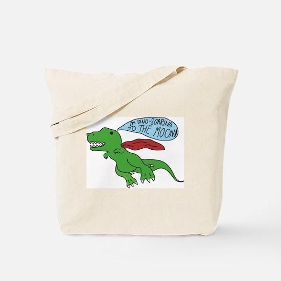 Cute Uplifting Tote Bag