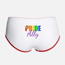 Gay Pride Ally Women's Boy Brief