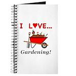 I Love Gardening Journal