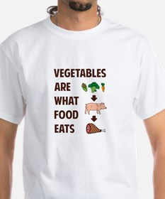 Vegetables Are What Food Eats T-Shirt