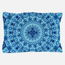 Crystal Radiance Mandala Pillow Case